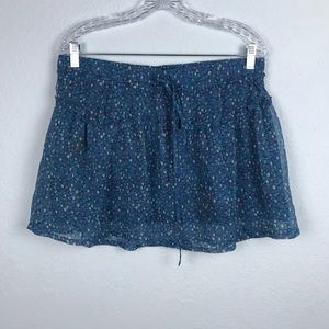 American Eagle Outfitters Mini Floral Skirt
